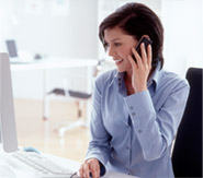 website receptionist services